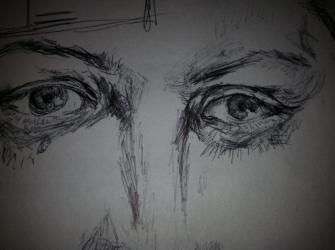 eyes close up