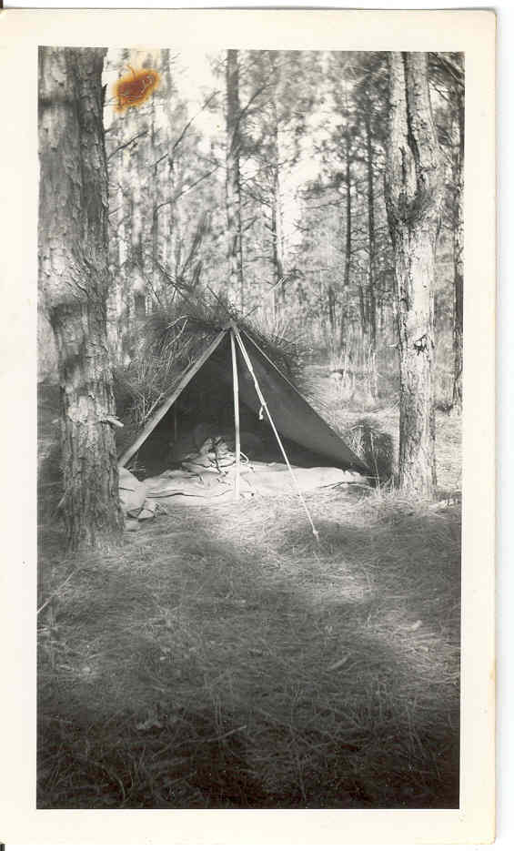Pup Tent from WWII