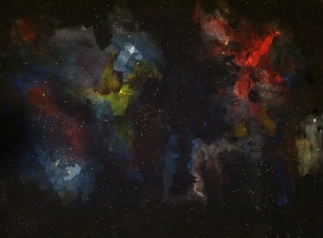 New Painting Series: Multi-Galaxy Imagined Universes