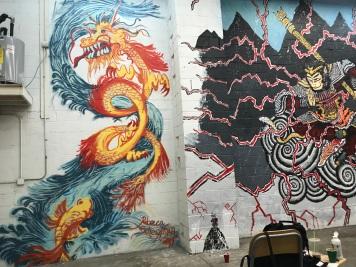 Mural at S.E.A Market, Gowanus